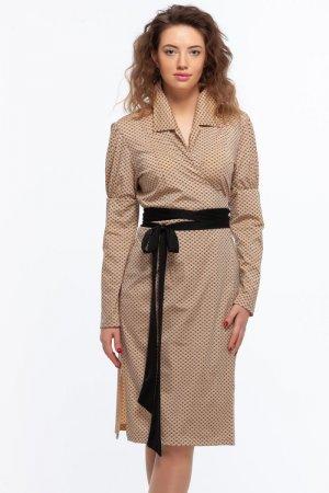 Платье халат на запах Марина