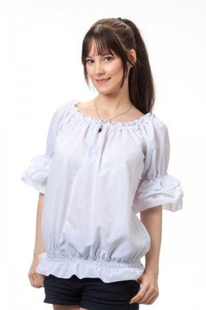 Блуза Баттерфляй белая