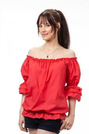 Блуза Баттерфляй красная
