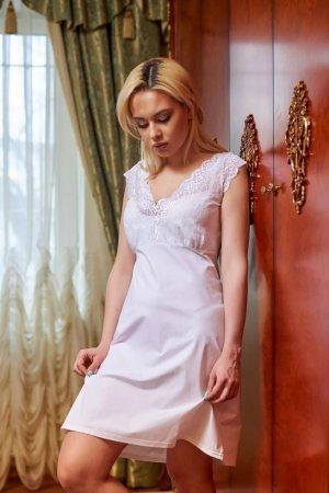 Сорочка ночная белая