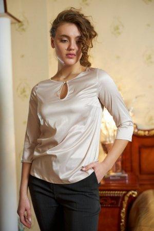 Блуза Марта молочная